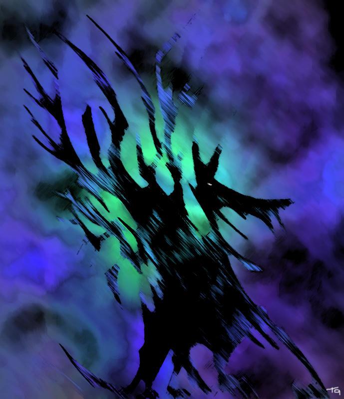 Shadow Dragon by ludd1te