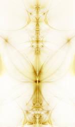 Wispy Gilded Butterfly by PimpcessTyna