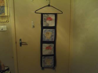 My wall hanging - 1 by DaleraTheHedgedingo2