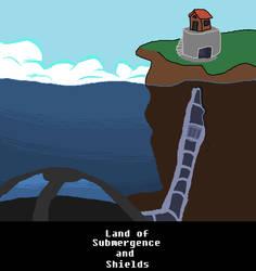 Land Of Submergence And Shields by DaleraTheHedgedingo2