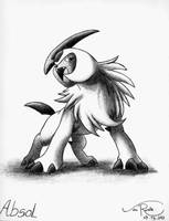 Absol by johnrenelle