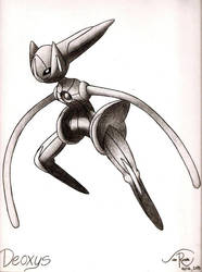 Deoxys - Speed Form by johnrenelle