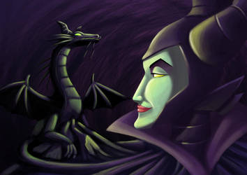Maleficent by multielementmage