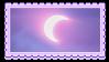 cresent moon by glittersludge