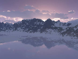 Frozen Mountains by Dr-Zaro