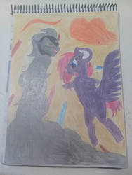Backstory of my oc Shadow Claw  by RainbowStiched