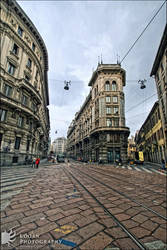 Corso Italia, Milan by LoganX78