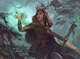 Devoted Druid by Kimonas