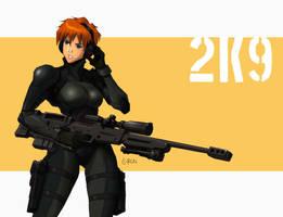Lady sniper by s2ka