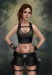 Lara Croft: Tomb Raider by Mikesw1234