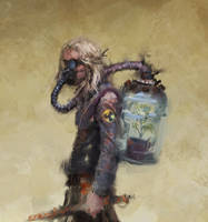 Rough character concept by PigThroat