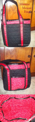 Minnie Mouse Bag by dgdesigner