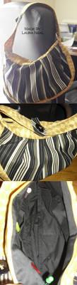 Cirque Stripe Bag by dgdesigner