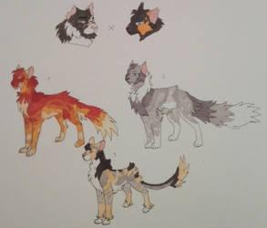 Scourge x Bone litter OTA OPEN by Ash-Doggie