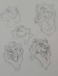 OPEN Free/OTA The Lion King sketch adopts by Ash-Doggie