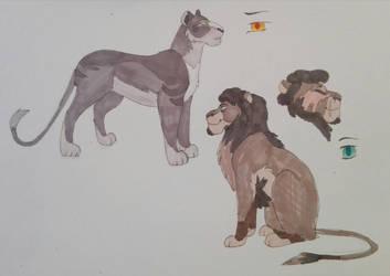 Lions for lionceros by Ash-Doggie