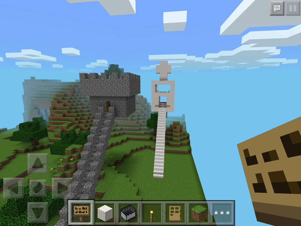 Chapel And Watchtower In Minecraft Pe By Rabidfangirl411 On Deviantart