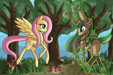 Forrest goddess pony by raptor007