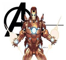 the invincible iron man by CRISTIAN-SANTOS