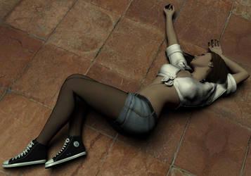 Amanda Jones Unconscious 3 by Torqual3D