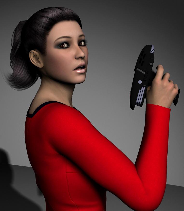 Ensign Natasha James 3 By Torqual3d On Deviantart