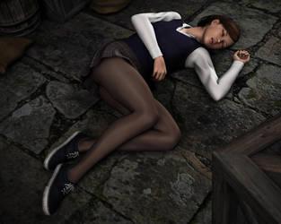Young Amanda Jones - Captured in the Castle! by Torqual3D