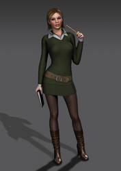 TFW4 - Lianne wears SHERWOOD Winter Outfit by Torqual3D