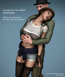Amanda The Teenage Rebel - Squeezed Out! by Torqual3D