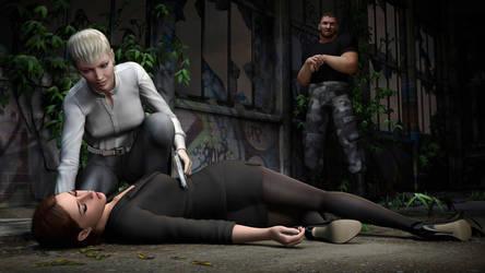 Amanda Jones - Serious Enemies (HD) by Torqual3D