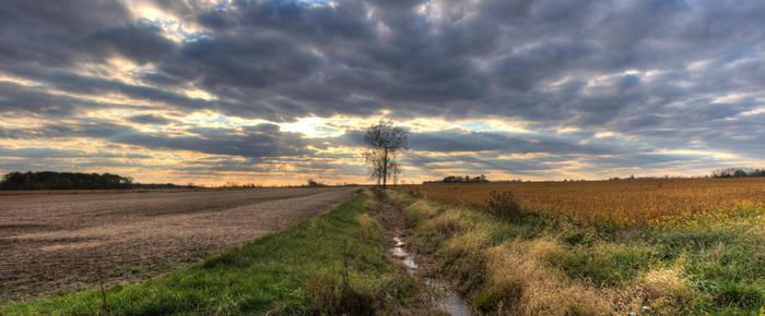 Graham Rd. Sunset by ZachSpradlin