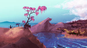 2. Tropical Coast by LastKrystalDragon