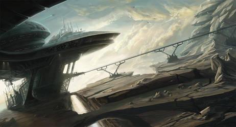 Badlands Substation by Fuzzybunikins