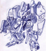 mecha by AnjoFDS