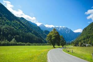Logar Valley I by IrinaRinkovec