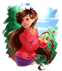 CM - Half Body .:Mabel Pines:. by Flasho-D