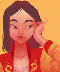 Mulan Jacket by Flasho-D