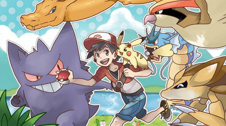 Let's Go! Kanto! by JakeDraws24