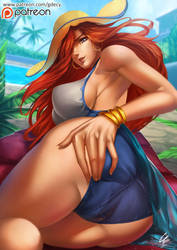 Pool Party Miss Fortune by GDecy