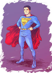 R.R: Superman 1938 by JayStargazer