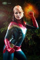 Captain Marvel by Draco-at-DeviantART