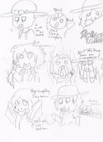 .:[DOODLE]LOTS OF CHIBI-TAKER DOODLES:. by Maniactheleader