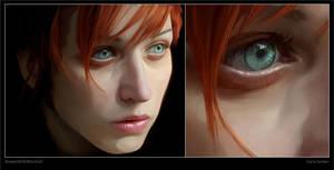 Portrait by madewithmischief