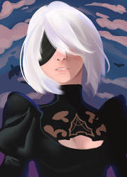 Can't you just look around for once 2b? by AquinePolar