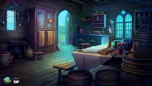 cabin Interior by CiCiY