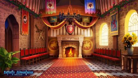 Adventurer's Guild Main Hall_Infinite Adventures by CiCiY