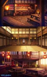 Tavern+Training Hall_Infinite Adventures by CiCiY