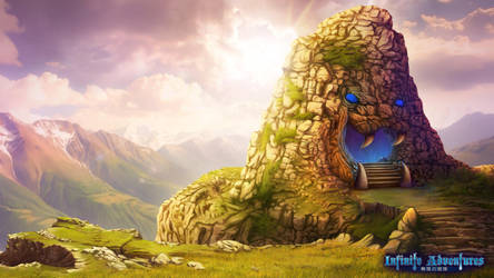 Entrance to Infinite Labyrinth_Infinite Adventures by CiCiY