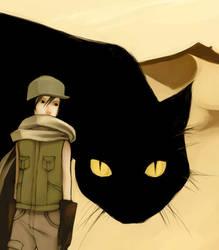 Boy and Kitty by nuu