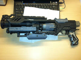 Nerf Rev5 Custom Pistol by The-ARSENAL