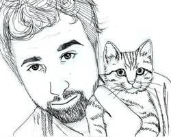 Jon + Kitteh: OTP by kshapiro